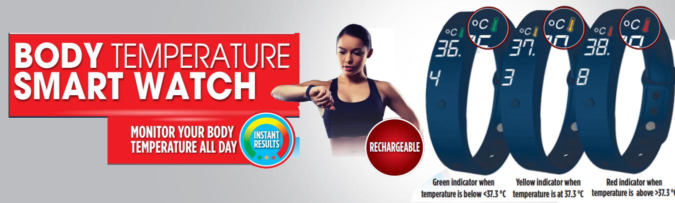 Body Temperature Smart Watch