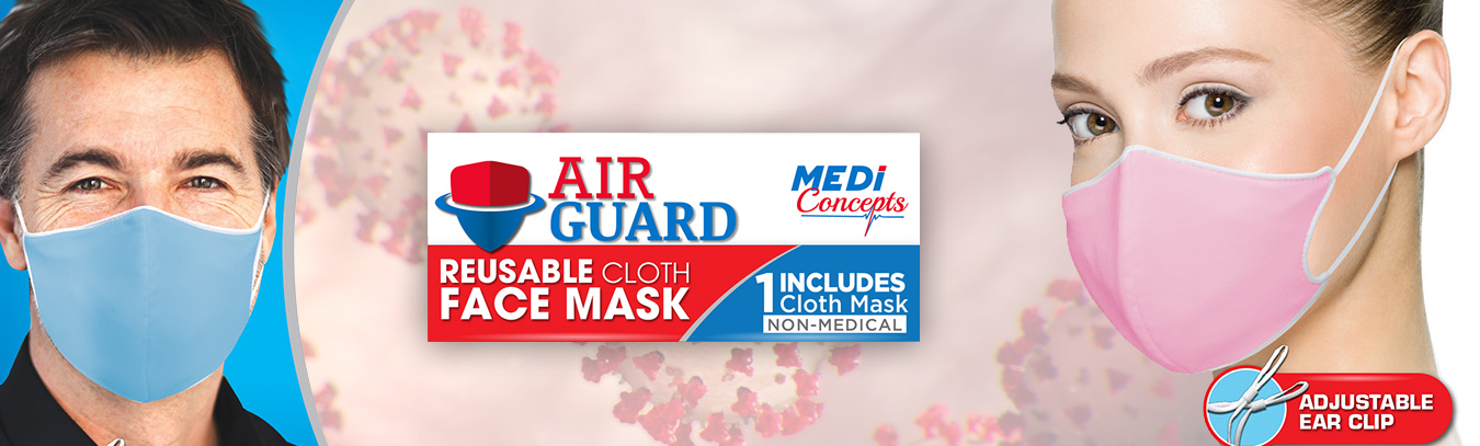 Air Guard Reusable Cloth Face Mask